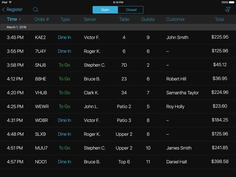 talech Register screenshot-4