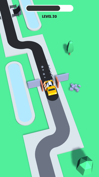 Trappy Road - Car & traps game screenshot 3