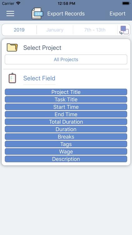 iParaV Time Management screenshot-4
