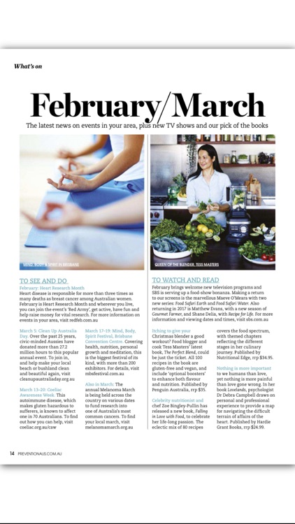 Prevention Magazine Australia