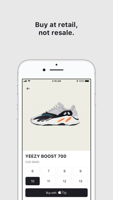 Frenzy - Buy Sneakers and More by Shopify Inc  (iOS, United States