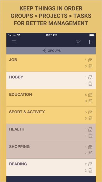 To Do List App - Task List screenshot-5