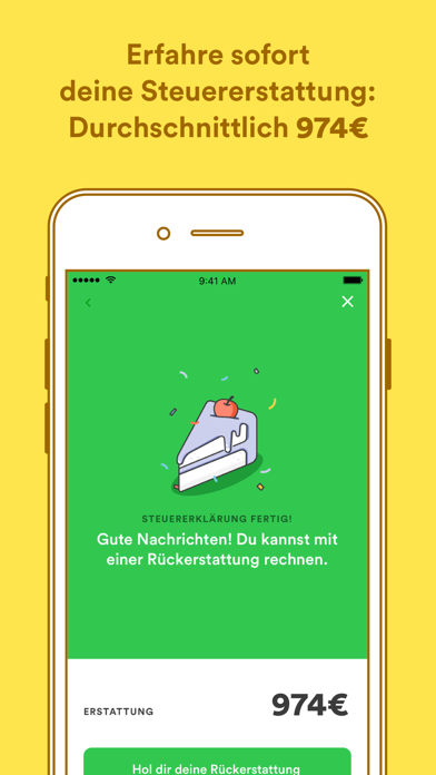 Screenshot for Taxfix - Die Steuer-App in Germany App Store