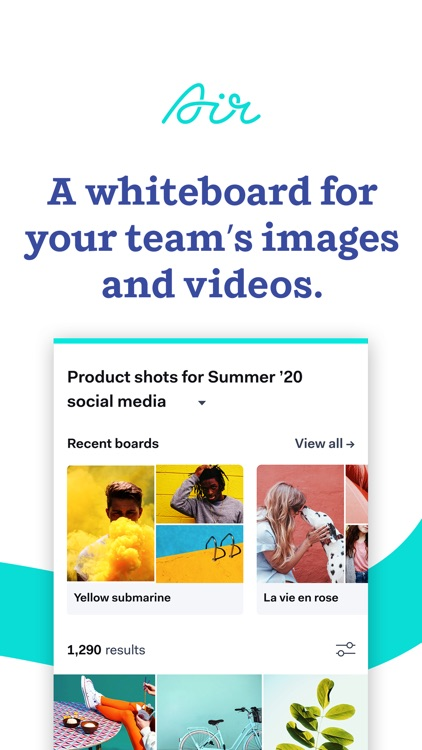 Air - image & video for teams screenshot-0