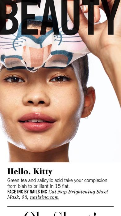 Cosmopolitan Magazine US Screenshot