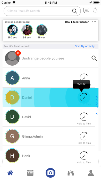 GLIMPS - Admire, Connect, IoP screenshot two