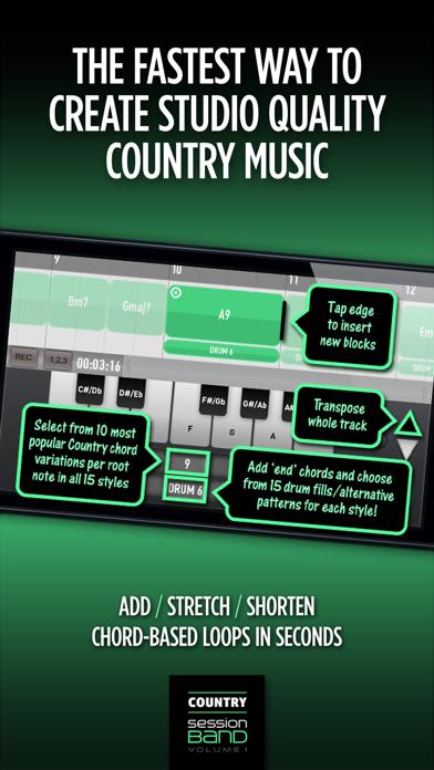 SessionBand Country 1 Screenshots