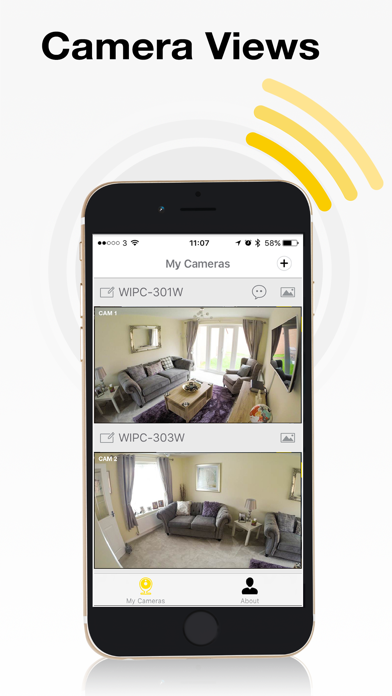 Yale Home View app screenshot three