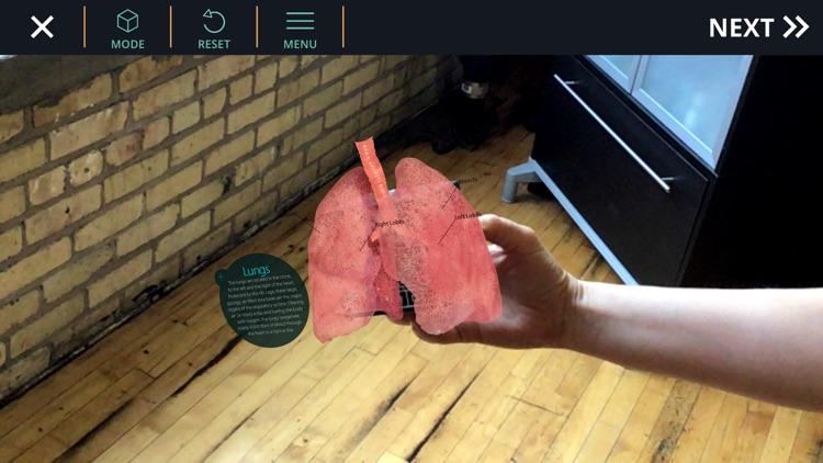 AnatomyAR+ for Merge Cube screenshot-3