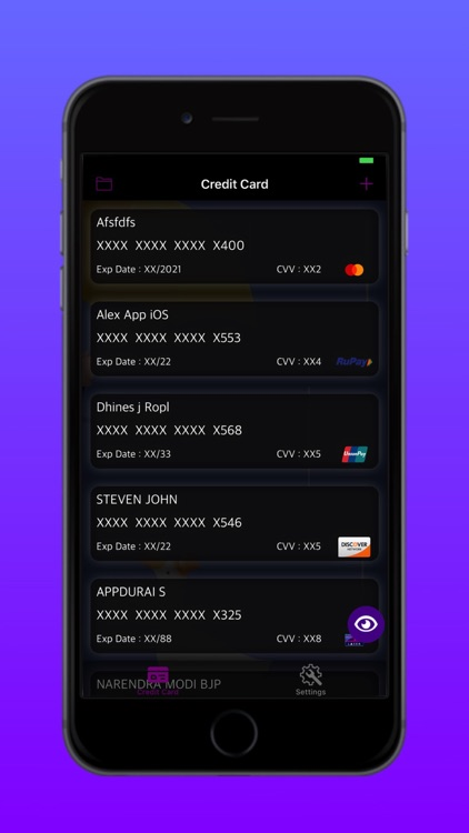 Credit Card Reader Pro screenshot-1