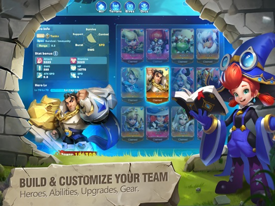 Heroes Bash screenshot 2