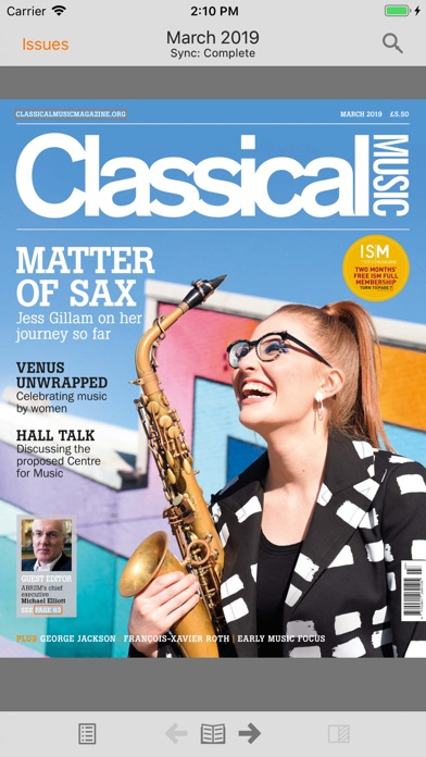Classical Music Magazine screenshot 1