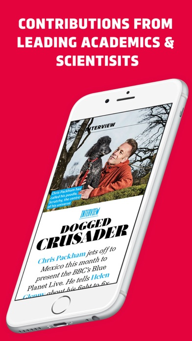 BBC Science Focus Magazine Screenshot on iOS