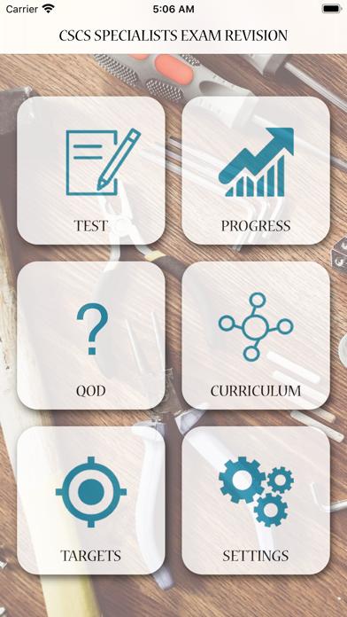 CSCS Specialists Exam Revision screenshot 1