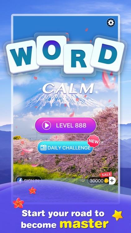 Word Calm -crossword puzzle screenshot-3