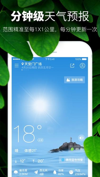天气预报-PM2.5空气质量和污染指数报告 screenshot-0