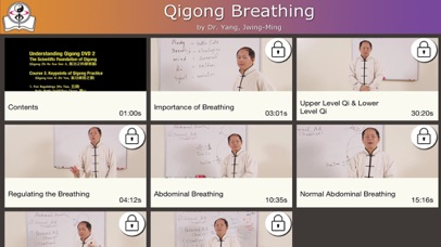 Qigong Breathing Video Lesson screenshot three