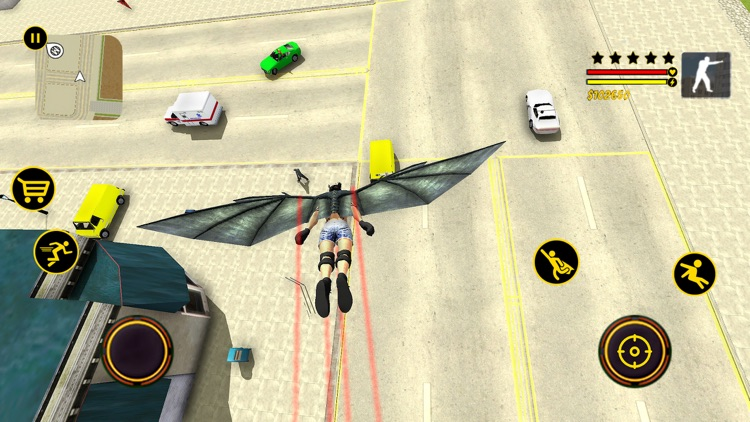 Flying Speed Super Hero Flash screenshot-3