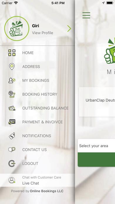 Offer Maids screenshot one