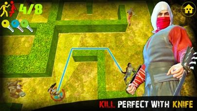 Ninja Assassin Knife Killer screenshot 5