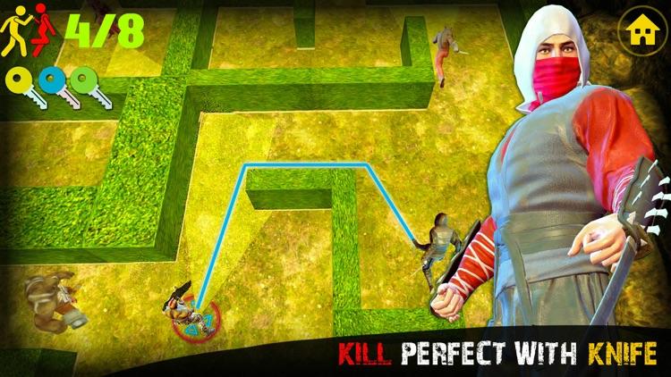 Ninja Assassin Knife Killer screenshot-4