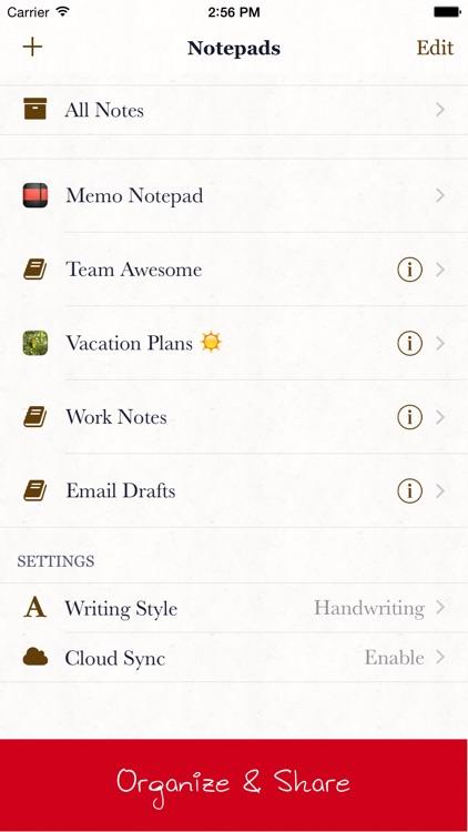 Memo Notepad screenshot-4