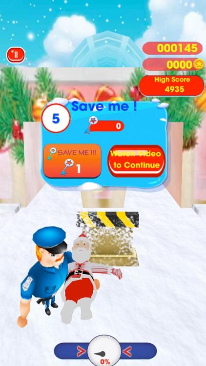 Christmas Santa Subway Run screenshot-3