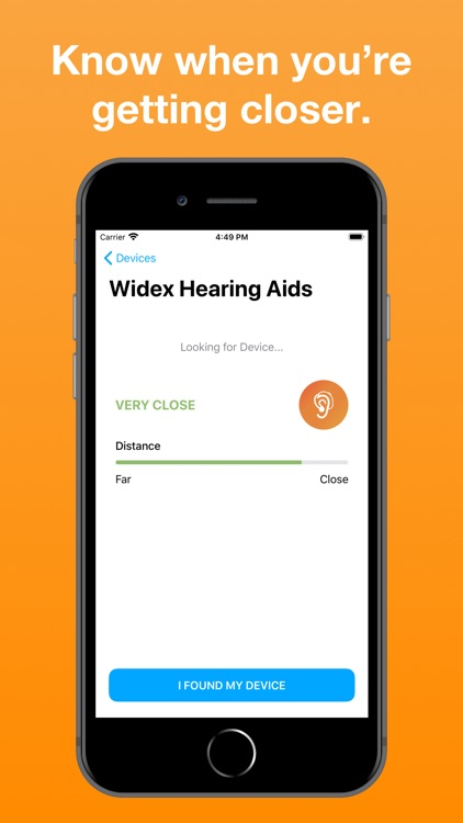 Find Lost Hearing Aids