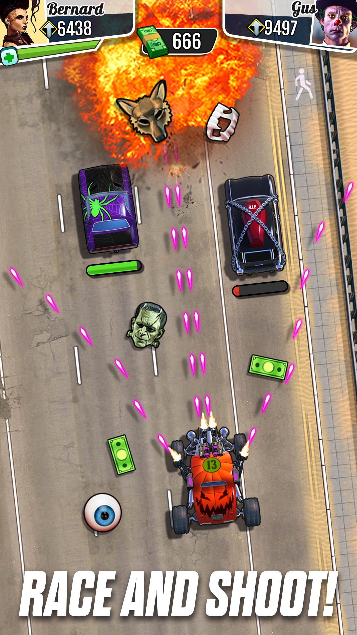 Fastlane: Car Racing Arcade #1 Screenshot