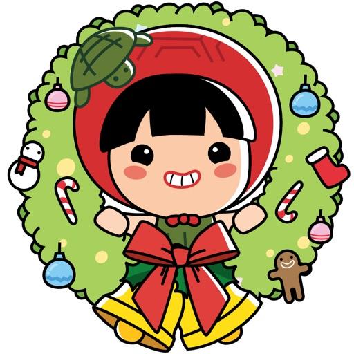 Ang Ku Kueh Girl - Christmas