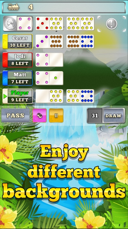 Mexican Train Dominoes Gold screenshot-3