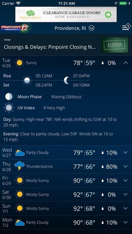 WPRI Weather screenshot-4