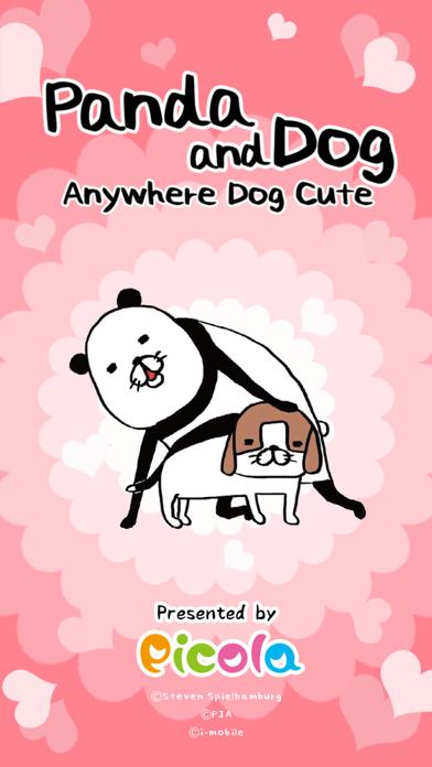 Panda and Dog: AnywhereDogCute screenshot 1