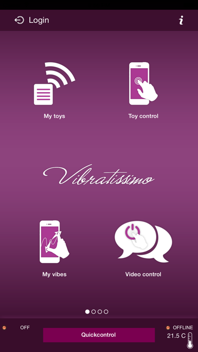 Vibratissimo screenshot one