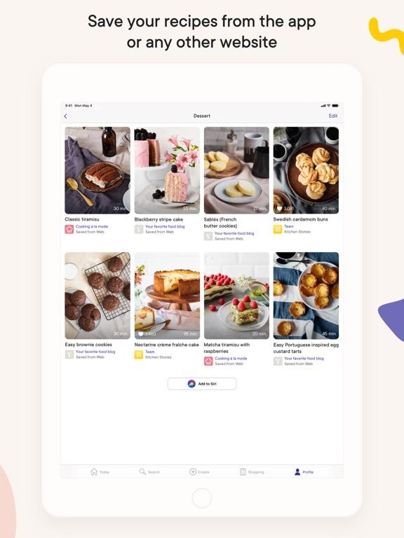 Kitchen Stories: tasty recipes iPad app afbeelding 5