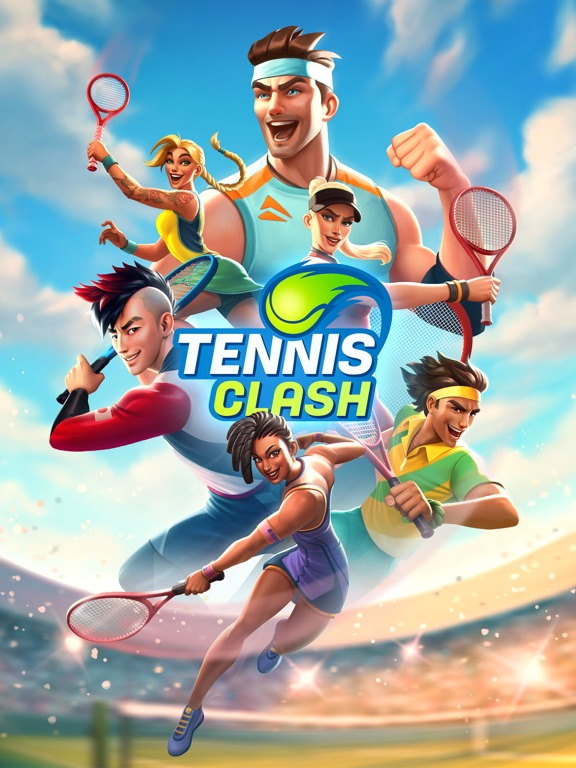 Tennis Clash:Game of Champions screenshot 10