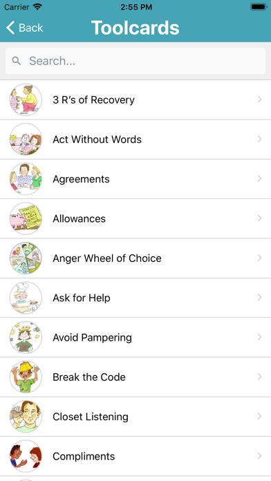 Positive Discipline review screenshots