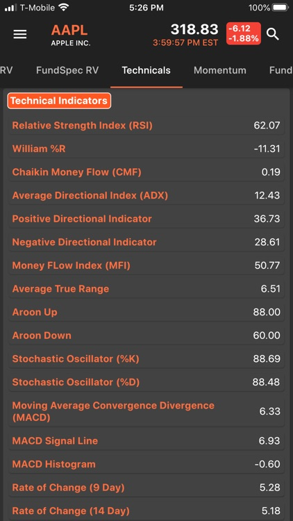 FundSpec: Financial Analysis screenshot-6