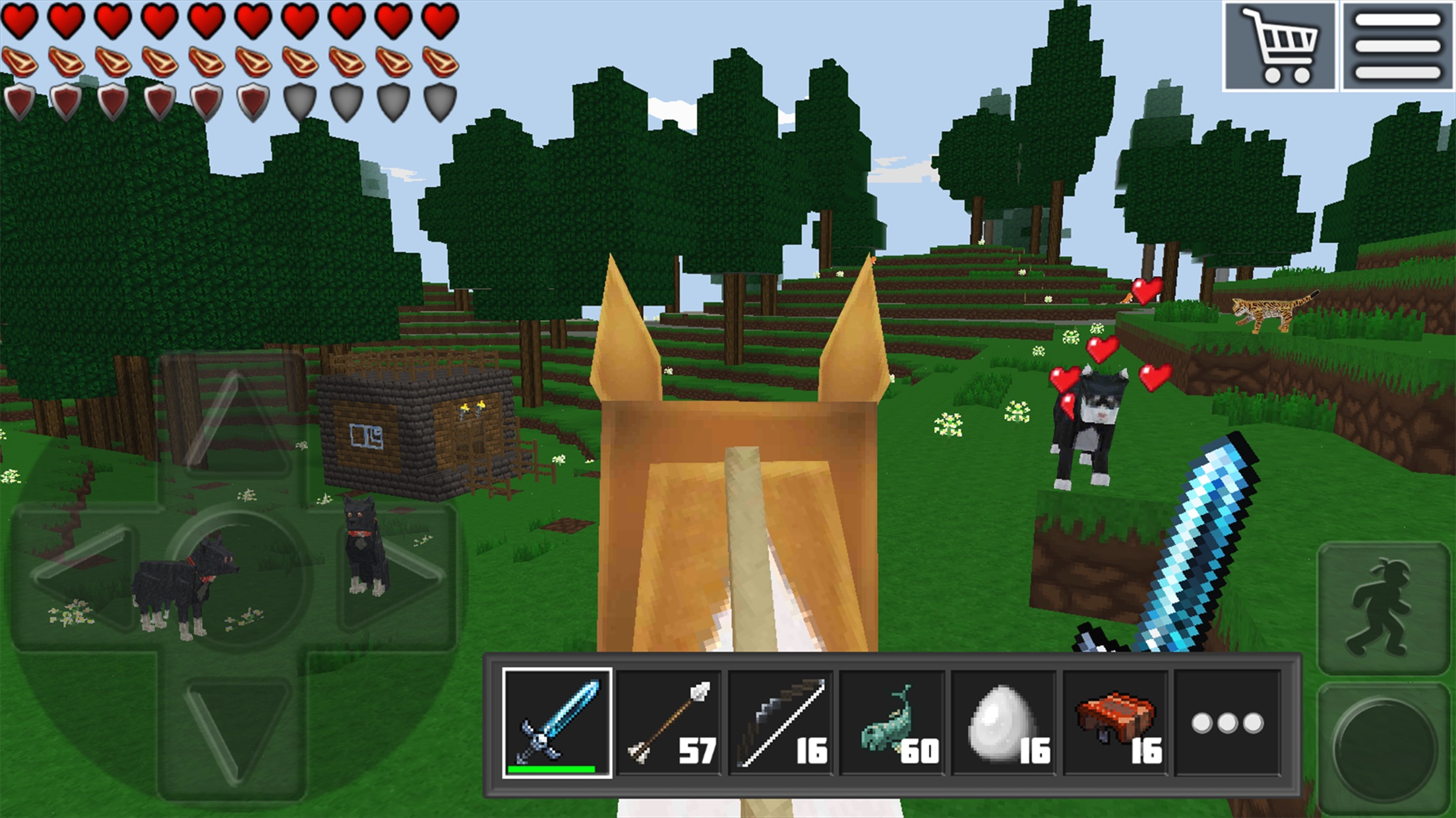 World of Cubes Survival Craft Screenshot