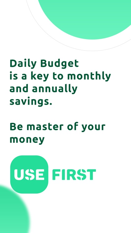 USE Daily Budget for Spending screenshot-4