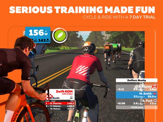 Screenshot #4 pour Zwift: Ride and Run