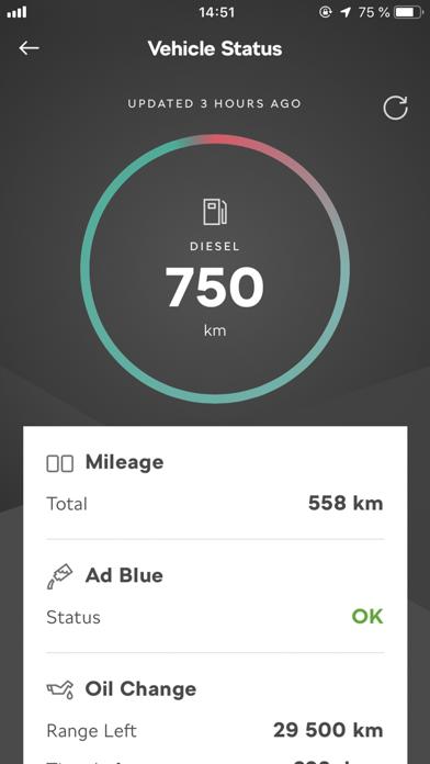 Screenshot for ŠKODA Connect in Denmark App Store