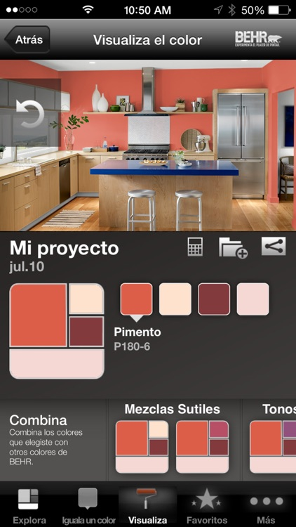 ColorSmart by BEHR® Mexico screenshot-4