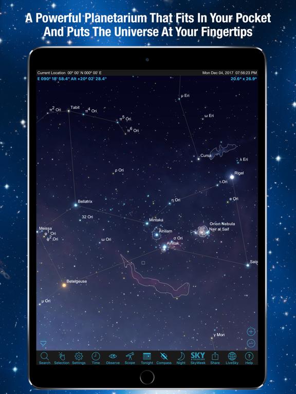 Screenshot #4 pour SkySafari 6 Plus