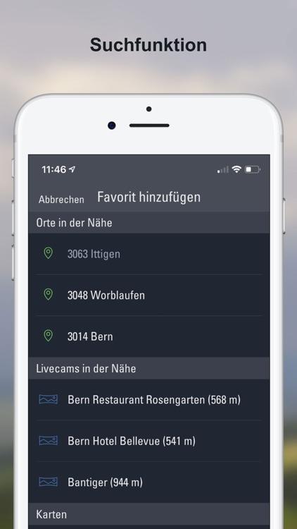 Wetter-Alarm: Schweiz screenshot-8