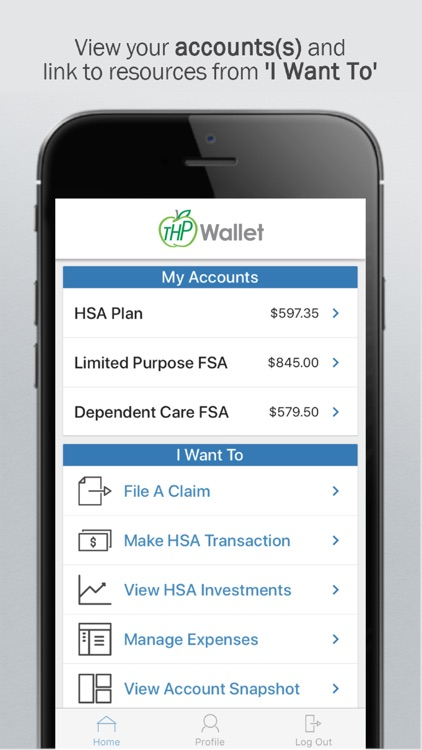 Thp Wallet By The Health Plan Of West Virginia Inc