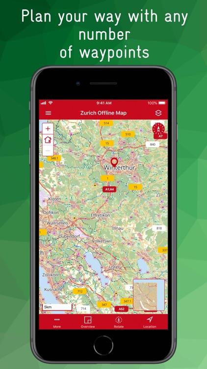 Zurich Offline Map screenshot-8