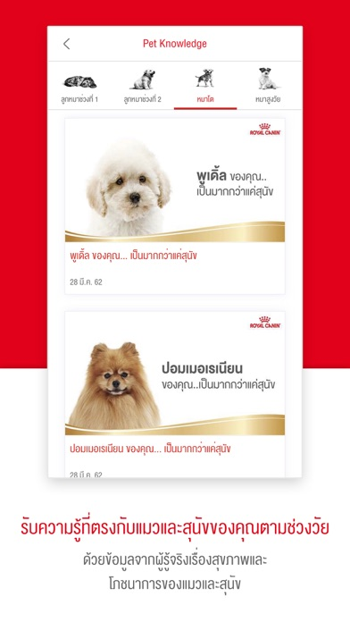 Royal Canin Club screenshot 2