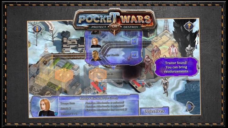 Pocket Wars Protect or Destroy screenshot-5