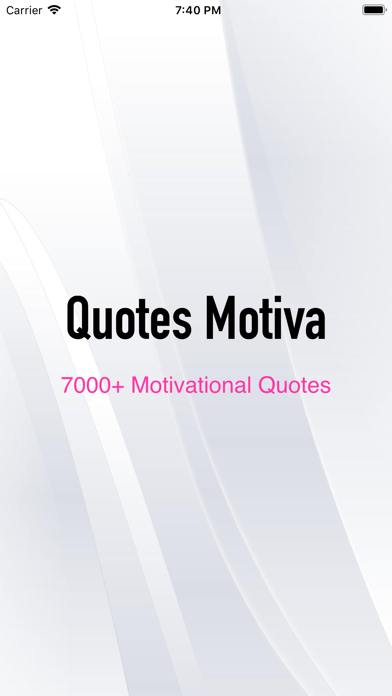 Quotes Motiva screenshot 1